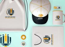 مصممة شعارات وهويات تجارية ومطبوعات