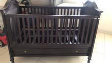 للبيع سرير اطفال اندنوسي جديد لم يستخدم