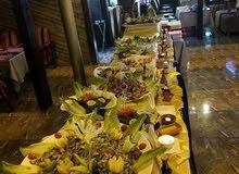 مطعم الرسام / بوفيه مفتوح 9 دنانير للشخص الواحد شامل الضريبة