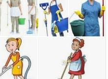 سيدات لتنظيف المنازل والشقق