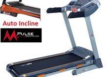 Baraka sports treadmill mpulse with auto incline and 12 preset programs 1 year warranty and service