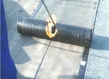 عزل السطح المنزل في مواد ضدالنزيف والرطوبه