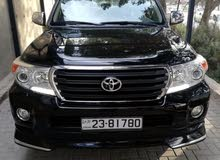 Black Toyota Land Cruiser 2015 for sale
