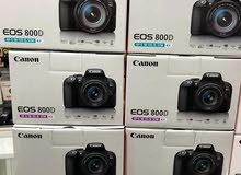 كاميرا كانون مع عدسه 135-18 جديده 2020 (مكفوله)