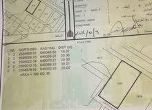 بيع أرض سكنيه مساحه 780 في ولايه العامرات منطقه البريد