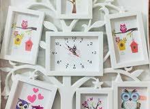 ساعات جدارية ولوكر مكياج