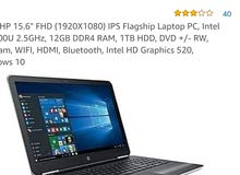 Hp pavilion business laptop نظيفة كلش
