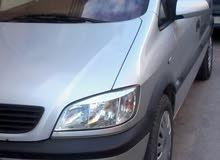 Opel Zafira car for sale 2002 in Tripoli city