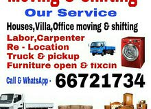 Moving,Shifting & Packing Service Detail= Call/whatsapp-66721734. we have expar