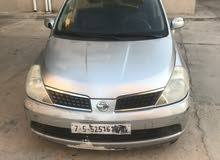Used condition Nissan Tiida 2006 with +200,000 km mileage