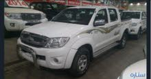 Manual White Toyota 2009 for sale