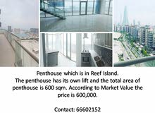 Penthouse for Sale in Reef Island