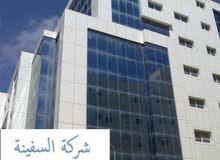 مبنى اداري في منطقة النوفلين 8 طوابق . للبيع او الايجار