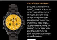 تشيس-دورير Fighter Command Alarm  ساعة. سويسرية للرجال