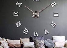 ساعة حائط ديكور المنزل بالاوان مختلفه