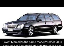 I wont Mercedes