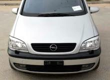 Opel Zafira car is available for sale, the car is in Used condition