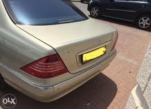 km mileage Mercedes Benz S 500 for sale