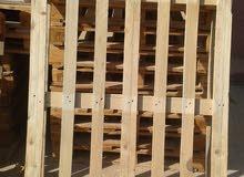 بالة او طبلة خشب  120*100 سم