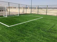 عشب صناعي لملاعب كرة القدم الحدائق