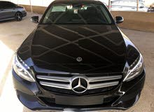 Mercedes Benz C 180 car for sale 2017 in Zarqa city