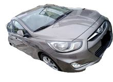 سياره للايجار هونداي اكسنت 2016لون فيراني نمره بيضاء