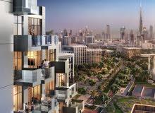 استوديو بموقع متميز في وسط خور دبي
