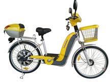 مطلوب دراجه كهربائيه