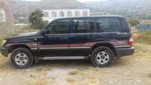 Black Toyota Land Cruiser 2001 for sale