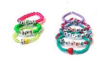 handmade bracelet stacks
