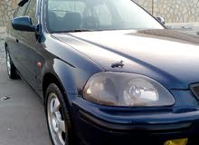 Blue Honda Civic 1996 for sale