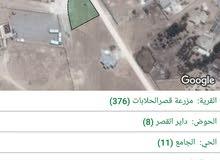 ارض تقع في منطقة قصر الحلابات الغربية