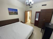 دبي مارينا  غرفة وصالة مفروشة سوبر لوكس مع بلكونة - ايجار شهري شامل