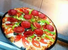 شيف بيتزا و فطاير وكنافة وخبز عربي وخبز صاج