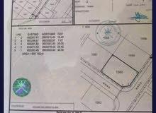 للبيع ارض كورنر بمرتفعات العامرات الخامسة قريب مسجد الريان