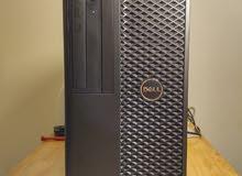 DELL WORKSTATION T7810 V3 دبل برسيسور كاش30 ميجا هارد 2000 جيجا ساتا + 240 SSD