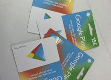 Cartes d'achat Google-play