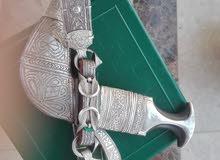خنجر قديمه بحجم كبير نوع القرن ابوبحيص