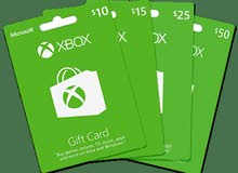 متوفر كروت اكس بوكس Xbox جميع الفئات ولجميع المتاجر