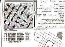 من المالك مباشرة للبيع  ارضين بصحار  جنب بعض في حي الرفعة مربع 20