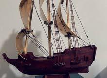 سفينة من الخشب