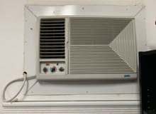 مكيف شباك نوع هاس 20500 وحدة حار بارد نظيف جداً إستعمال سنة