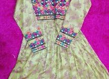 لبس هندي مطرز بلوشي مطور لم تلبس ابدا جميلة جدا