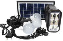 نظام خلية شمسية فقط 25دينار يتم شحنه على الكهرباء أو الطاقة الشمسية