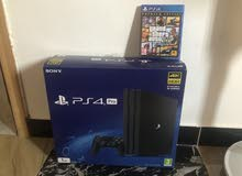 Playstation 4 Pro video game console with advanced specs for sale at a reasonable price