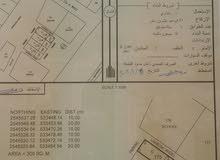 للبيع أرض تجاري (المعمورة) أول خط من الشارع العام