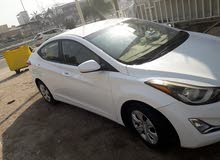 Hyundai Elantra 2016 For sale - White color