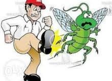 مكافحه الحشرات و الصراصير والافات
