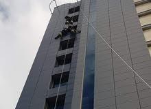 نحن شركة متسلقين نستطيع انجاز اي عمل على المرتفعات