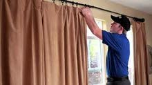 Curtain Hanging, Painting Hanging & Frames Mounting